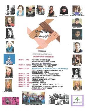 All Women - Women's History Month