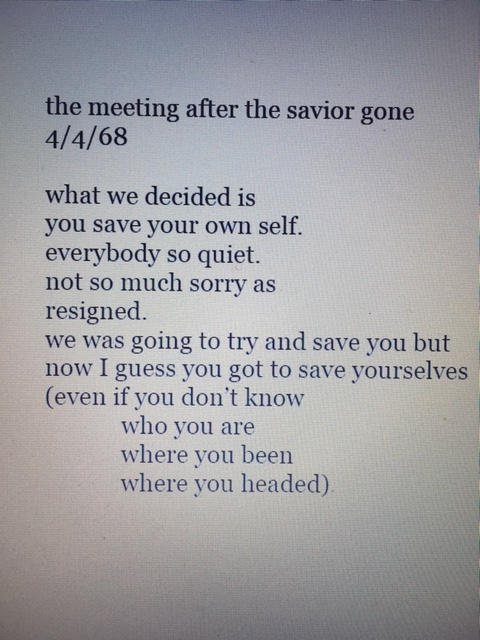 clifton poem